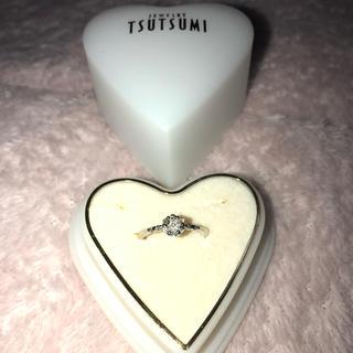 ジュエリーツツミ(JEWELRY TSUTSUMI)のK10ダイヤモンドリング(リング(指輪))