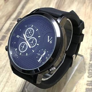 エドックス(EDOX)の限定VV6のクロノグラフ時計大   フォッシル オロビアンコ ハミルトン ITA(腕時計(アナログ))