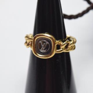ルイヴィトン(LOUIS VUITTON)の送料無料/ルイヴィトン/指輪/リング/ゴールド×シルバー/レディース/付属品あり(リング(指輪))