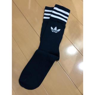 アディダス(adidas)のadidas ソックス 22〜24cm カレッジネイビー 1足(ソックス)
