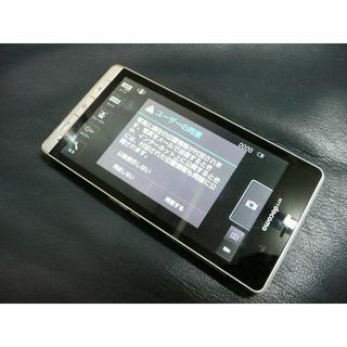 エヌティティドコモ(NTTdocomo)のAQUOS PHONE SH-01D パールホワイト(スマートフォン本体)