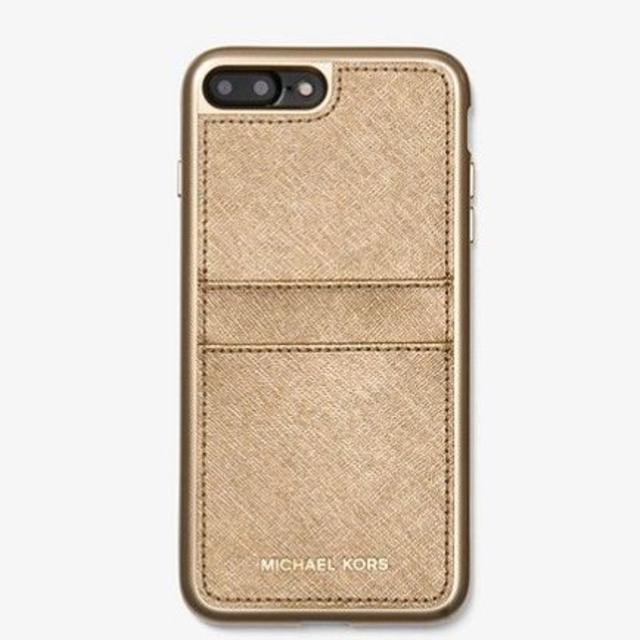 Michael Kors - Michael Kor ロゴ カード収納 レザー iPhone 7/8plusの通販 by beautywanco's shop|マイケルコースならラクマ