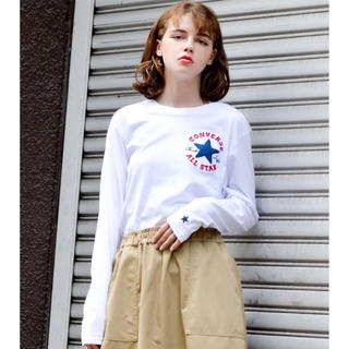 コンバース(CONVERSE)のCONVERSE サガラ アンクル ワッペン ロンT(Tシャツ(長袖/七分))