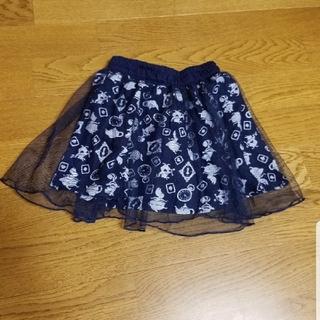 ディズニー(Disney)の不思議の国のアリス☆レーススカート(スカート)