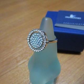 スワロフスキー(SWAROVSKI)の美品 SWAROVSKI スワロフスキー ブルー&ピンク リング(リング(指輪))
