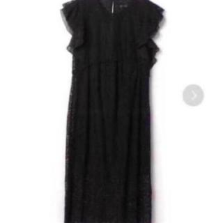ザラ(ZARA)の【ZARA】ブラック総レースドレス(ミディアムドレス)