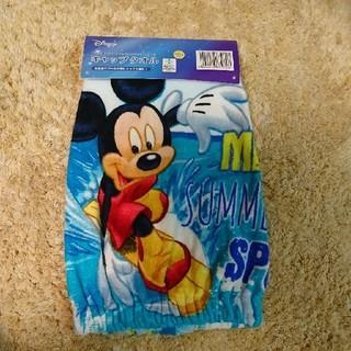 ディズニー(Disney)のミッキー キャップタオル プールタオル 新品(その他)
