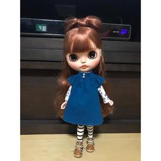 ブルーワンピ(人形)