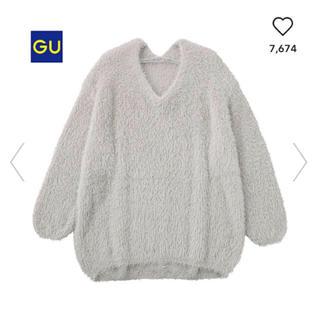 ジーユー(GU)のジーユー  セーター グレー(ニット/セーター)