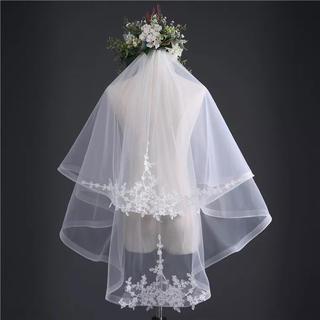 ウェディング  ベール ベールダウン  結婚式 花嫁 コーム付き