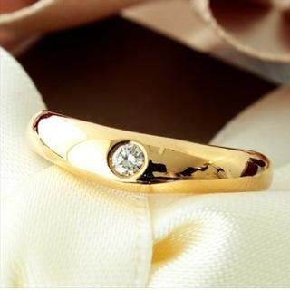 ヨンドシー(4℃)の4℃・K18&ダイヤモンドリング(リング(指輪))