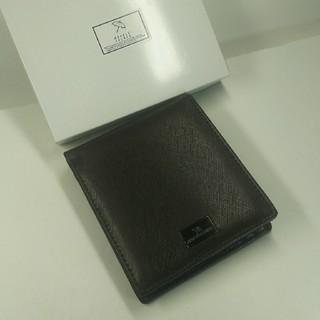 新品未使用、ARNDLD'PRLMER折りたたみ財布、牛本革