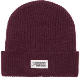 ヴィクトリアズシークレット(Victoria's Secret)のVictoria secret PINK ニット帽(ニット帽/ビーニー)