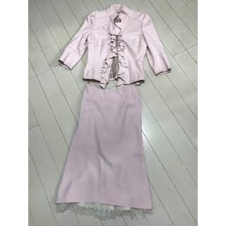 カレンミレン(Karen Millen)の KAREN MILLEN ENGLAND ピンク フォーマルスーツ(その他ドレス)