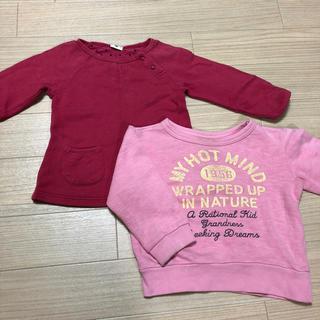 アカチャンホンポ(アカチャンホンポ)のトレーナー スウェット セット(Tシャツ/カットソー)