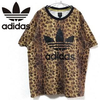 アディダス(adidas)のadidas レオパード柄 ヒョウ柄 Tシャツ (Tシャツ/カットソー(半袖/袖なし))