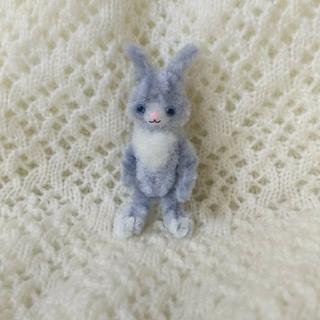 モールベア モールウサギ うさぎ1 モールアート ハンドメイド ミニチュア(ぬいぐるみ)