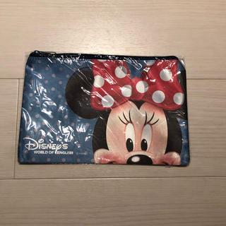 ディズニー(Disney)の【非売品】ディズニー ミニー ポーチ(ポーチ)