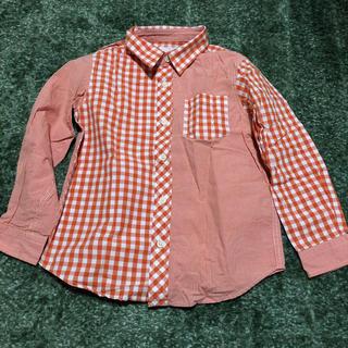 ジーユー(GU)のGU チェックシャツ(ブラウス)