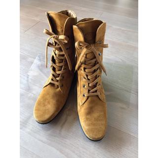 トッズ(TOD'S)のTOD'S アンクルブーツ ゴンミーニ38 1/2・新品同様(ブーツ)
