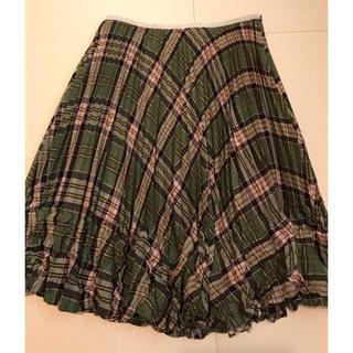 アズノウアズ(AS KNOW AS)のプリーツスカート(ひざ丈スカート)