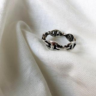 イカリチェーンリング シルバー(リング(指輪))