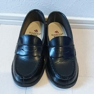 ハルタ(HARUTA)のHARUTA ローファー 子供フォーマル靴黒 18cm(フォーマルシューズ)