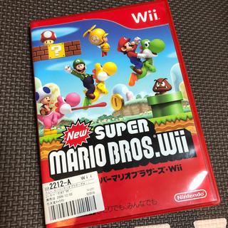 ウィー(Wii)のスーパーマリオブラザーズ wiiソフト(家庭用ゲームソフト)