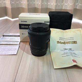 シグマ(SIGMA)の美品 シグマ 35mm F1.4 DG HSM ART Aマウント保証あり(レンズ(単焦点))