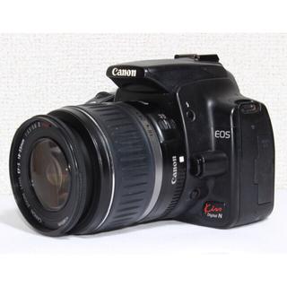 キヤノン(Canon)の⭐️すぐ使えるCFカード付き⭐️Canon EOS Kiss Digital N(デジタル一眼)