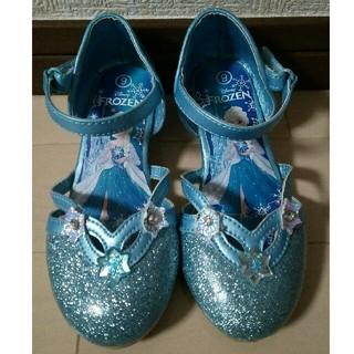 ディズニー(Disney)のアナと雪の女王 エルサ シューズ 16cm靴(フォーマルシューズ)