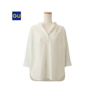 ジーユー(GU)のGU オーバーサイズスキッパーシャツ(シャツ/ブラウス(長袖/七分))