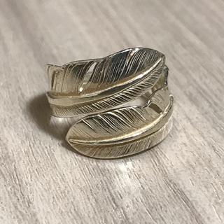ゴローズ(goro's)のダブルフェザーリング(リング(指輪))