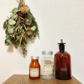 アンティーク ガラス瓶 3本セット まとめ売り(インテリア雑貨)