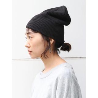 アングリッド(Ungrid)のリブ編みニット帽(ニット帽/ビーニー)