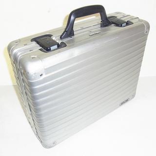 リモワ(RIMOWA)の超希少 黒ロゴ 黒ハンドル リモワ スーツケース アタッシュ アンティーク(トラベルバッグ/スーツケース)