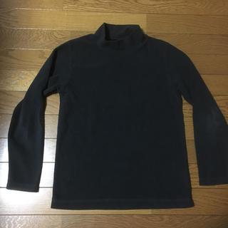 ジーユー(GU)のGU サイズ150センチのフリース素材の長袖Tシャツ(Tシャツ/カットソー)