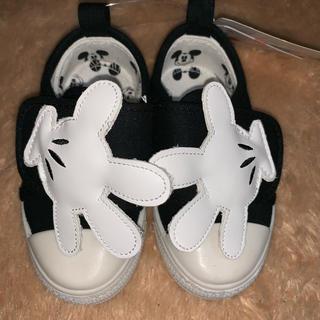 ディズニー(Disney)のミッキー  子供靴  13センチ(スニーカー)