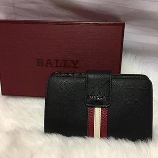 バリー(Bally)のBALLY バリー 二つ折り財布 レディース ブラック(折り財布)