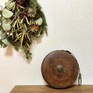 アンティーク メジャー 巻尺(インテリア雑貨)