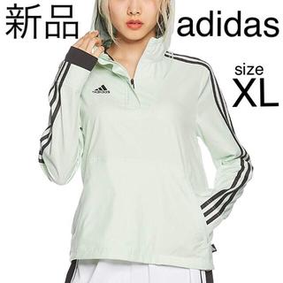 アディダス(adidas)のアディダス トップス プラクティス 婦人 練習 シャカシャカ ウェア ウィンブレ(ウェア)