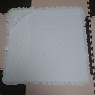 アカチャンホンポ(アカチャンホンポ)の白いおくるみ☆80×80 厚手 リバーシブル アカチャンホンポ タオル生地(タオルケット)