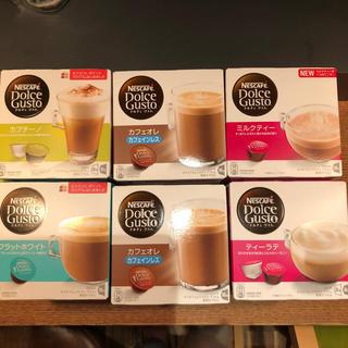 Nestle - ネスカフェ ドルチェ グスト カプセル 6箱
