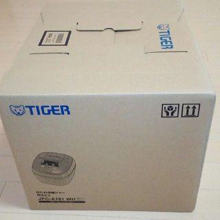 TIGER - 『新品未使用』 タイガー圧力IH炊飯器JPC-A181WH (一升炊き)