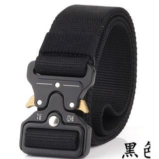 コブラバックル タクティカル ベルト アウトドア サバゲー ブラック(個人装備)