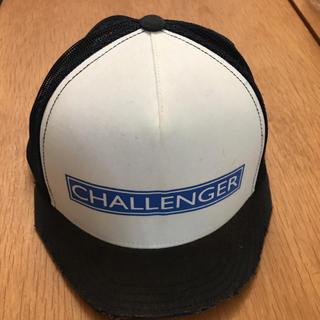 ネイバーフッド(NEIGHBORHOOD)の【希少❗️】チャレンジャー challengerキャップ  ツバ切り(キャップ)
