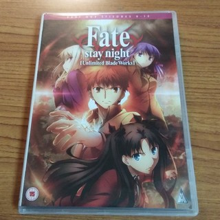 Fate unlimited blade works 0~12話 英語+日本語
