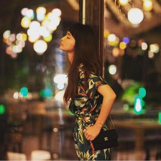 ザラ(ZARA)の完売品 ザラ フラワー ジャンプスーツ リボン ベルト パンツ ワンピ サンダル(オールインワン)