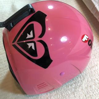 キッズスノー用ヘルメット(ウエア/装備)