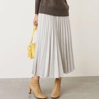 ノーブル(Noble)の専用 新品 noble フェイクスエードプリーツスカート(ロングスカート)
